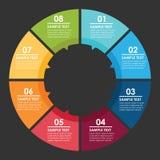 Σχέδιο Infographic ελεύθερη απεικόνιση δικαιώματος