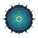 Σχέδιο Mandala για τη διακόσμηση και τη διακόσμηση υποβάθρου Στοκ Φωτογραφίες