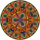 Σχέδιο Mandala Στοκ εικόνες με δικαίωμα ελεύθερης χρήσης