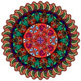 Σχέδιο Mandala Στοκ εικόνα με δικαίωμα ελεύθερης χρήσης