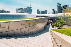 Σχέδιο Plaza, σύγχρονη αρχιτεκτονική DDP Dongdaemun στη Σεούλ, Κορέα Στοκ φωτογραφίες με δικαίωμα ελεύθερης χρήσης