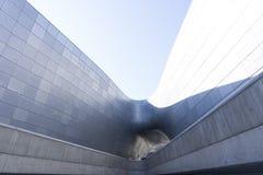 Σχέδιο Plaza DDP Dongdaemun στη Σεούλ, Νότια Κορέα Στοκ Εικόνες