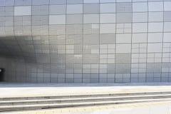 Σχέδιο Plaza DDP Dongdaemun στη Σεούλ, Νότια Κορέα Στοκ φωτογραφία με δικαίωμα ελεύθερης χρήσης