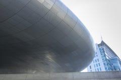 Σχέδιο Plaza DDP Dongdaemun στη Σεούλ, Νότια Κορέα Στοκ φωτογραφίες με δικαίωμα ελεύθερης χρήσης
