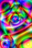σχέδιο psychedelic Στοκ Φωτογραφία