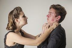 Σχέσεις, φιλονικία, ζηλοτυπία στοκ εικόνα με δικαίωμα ελεύθερης χρήσης