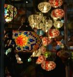 Σχέδια λαμπών φωτός Στοκ Φωτογραφίες
