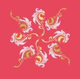 Σχέδια ζωγραφικής χρώματος Στοκ Εικόνες