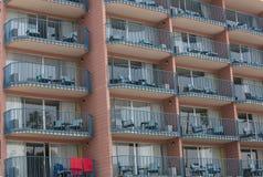 Σχέδια και γραμμές σε ένα κτήριο Στοκ εικόνα με δικαίωμα ελεύθερης χρήσης