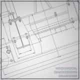 Σχέδια μηχανολόγου μηχανικού διανυσματική απεικόνιση