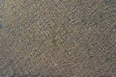 Σχέδια νερού στο πάτωμα τσιμέντου Στοκ Εικόνες