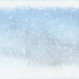 Σχέδια παγετού στο παράθυρο Στοκ Εικόνες