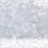 Σχέδια παγετού στο παράθυρο Στοκ φωτογραφίες με δικαίωμα ελεύθερης χρήσης