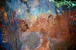 Σχέδια στη σκουριά Στοκ Φωτογραφίες