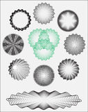 Σχέδια τραπεζογραμματίων Στοκ Εικόνες