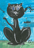 σχέδια s παιδιών Στοκ Εικόνες