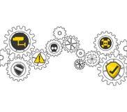 σχέδιο έννοιας εργαλείων Στοκ φωτογραφία με δικαίωμα ελεύθερης χρήσης