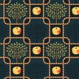 Σχέδιο δέντρων της Apple ελεύθερη απεικόνιση δικαιώματος