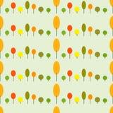 Σχέδιο δέντρων φθινοπώρου Στοκ Φωτογραφίες
