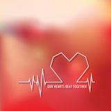 Σχέδιο αγάπης για την ημέρα του βαλεντίνου Στοκ φωτογραφία με δικαίωμα ελεύθερης χρήσης