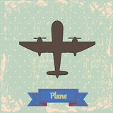 Σχέδιο αεροπλάνων διανυσματική απεικόνιση