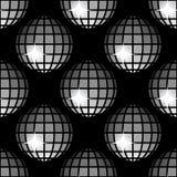 Σχέδιο 8 λαμπρές σφαίρες Disco διανυσματική απεικόνιση