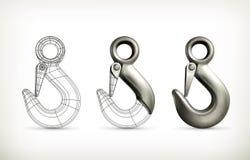Σχέδιο ανυψωτικών γάντζων Στοκ φωτογραφία με δικαίωμα ελεύθερης χρήσης