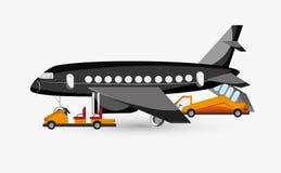 Σχέδιο απεικόνισης αερολιμένων, editable διάνυσμα απεικόνιση αποθεμάτων