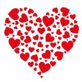 Σχέδιο απομονωμένου του καρδιές διανύσματος αντικειμένου ελεύθερη απεικόνιση δικαιώματος