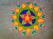 Σχέδιο από τα ξηρά χρώματα Στοκ Εικόνες