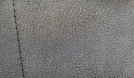 Σχέδιο από το μαύρο leatherette Στοκ εικόνα με δικαίωμα ελεύθερης χρήσης