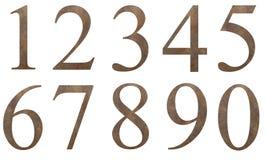 Σχέδιο αριθμών grunge Στοκ φωτογραφία με δικαίωμα ελεύθερης χρήσης