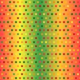 Σχέδιο αστεριών άνευ ραφής διάνυσμα ανασκό Στοκ Εικόνα