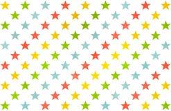 Σχέδιο αστεριών Watercolor Στοκ Φωτογραφίες