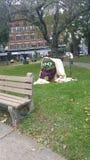 Σχέδιο ατόμων αχύρου Στοκ φωτογραφία με δικαίωμα ελεύθερης χρήσης