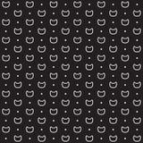 Σχέδιο γατών: σημεία και γατάκια Στοκ φωτογραφία με δικαίωμα ελεύθερης χρήσης