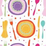 Σχέδιο γευμάτων Στοκ Εικόνα