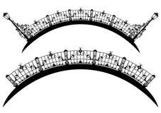 Σχέδιο γεφυρών Στοκ Εικόνα