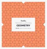 Σχέδιο γεωμετρίας Tessellation Στοκ φωτογραφία με δικαίωμα ελεύθερης χρήσης