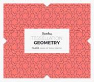 Σχέδιο γεωμετρίας Tessellation Στοκ Εικόνες