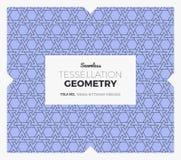 Σχέδιο γεωμετρίας Tessellation Στοκ Εικόνα