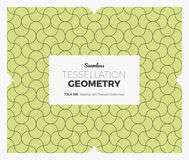 Σχέδιο γεωμετρίας Tessellation Στοκ εικόνα με δικαίωμα ελεύθερης χρήσης