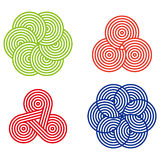 Σχέδιο γύρω από το στοιχείο λογότυπων Στοκ φωτογραφία με δικαίωμα ελεύθερης χρήσης