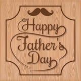 Σχέδιο εγγραφής ημέρας του ευτυχούς πατέρα Στοκ Εικόνες