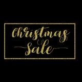 Σχέδιο εγγραφής πώλησης Χριστουγέννων Στοκ Εικόνες