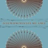 σχέδιο εθνικό Διανυσματική ανασκόπηση διακόσμηση γύρω από το διάν&upsil Στοκ φωτογραφία με δικαίωμα ελεύθερης χρήσης