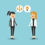 Σχέδιο εικονιδίων Businesspeople Στοκ Εικόνα