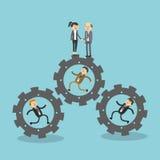 Σχέδιο εικονιδίων Businesspeople Στοκ Εικόνες