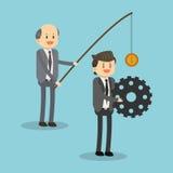 Σχέδιο εικονιδίων Businesspeople Στοκ εικόνες με δικαίωμα ελεύθερης χρήσης