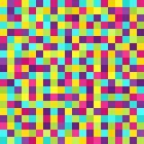 Σχέδιο εικονοκυττάρου Διανυσματικό άνευ ραφής υπόβαθρο τέχνης εικονοκυττάρου Στοκ Φωτογραφίες